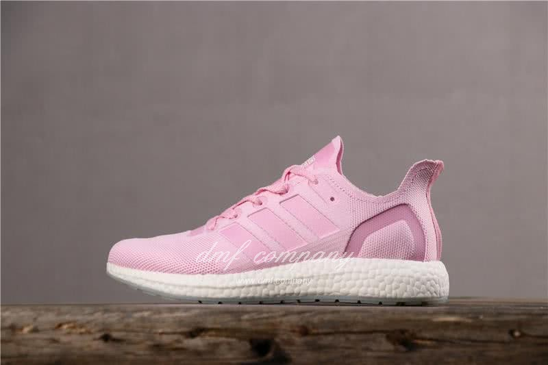 Adidas Ultra Boost 19  Men Women Pink Shoes 4