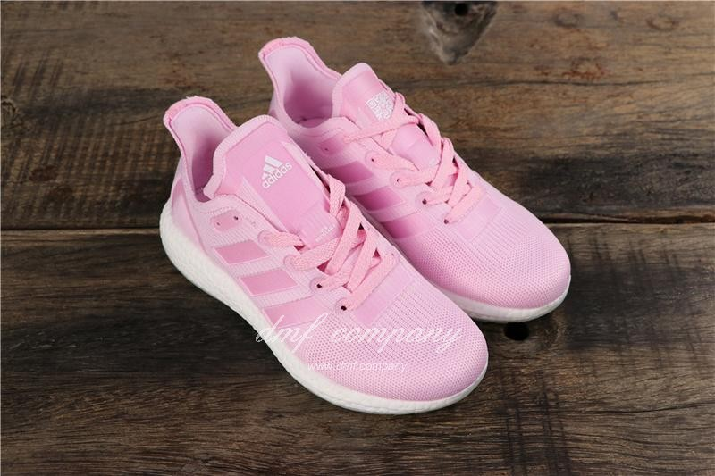 Adidas Ultra Boost 19  Men Women Pink Shoes 1