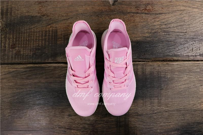Adidas Ultra Boost 19  Men Women Pink Shoes 8