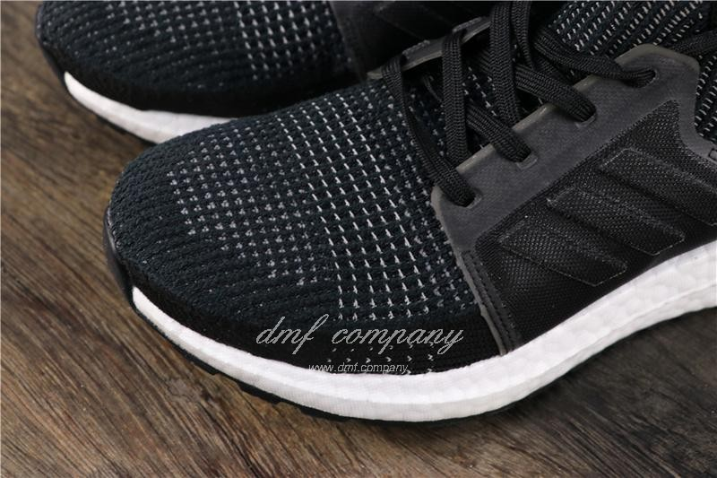 Adidas Ultra Boost Men Women Black Shoes 6