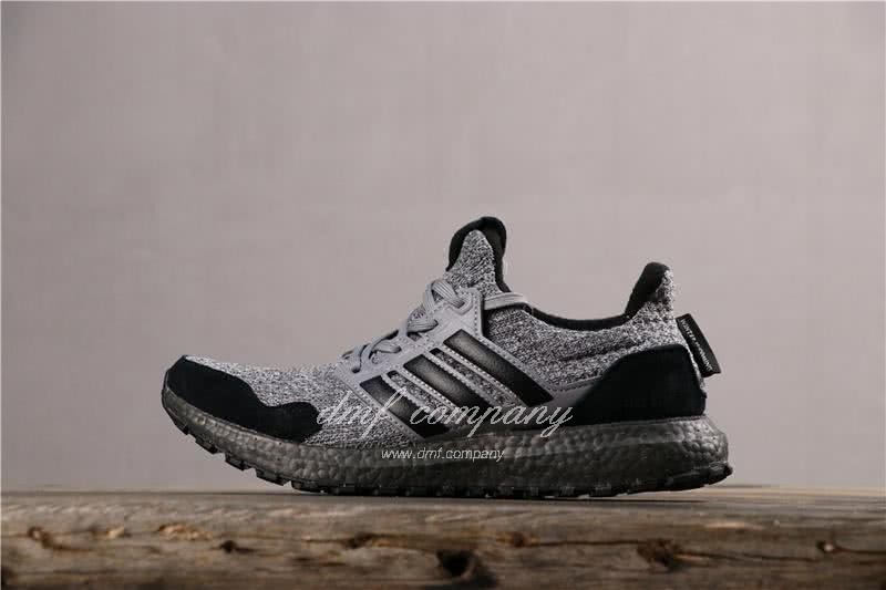 Adidas Ultra Boost x GOT Men Black Grey Shoes 2