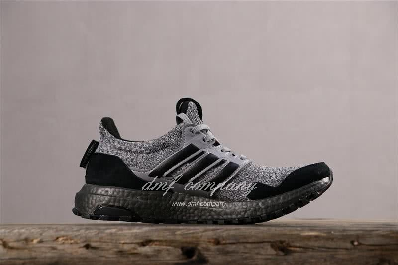 Adidas Ultra Boost x GOT Men Black Grey Shoes 3