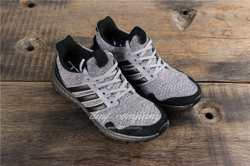 Adidas Ultra Boost x GOT Men Black Grey Shoes 1