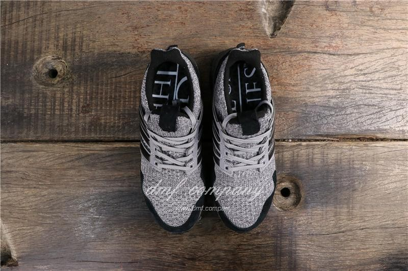 Adidas Ultra Boost x GOT Men Black Grey Shoes 8