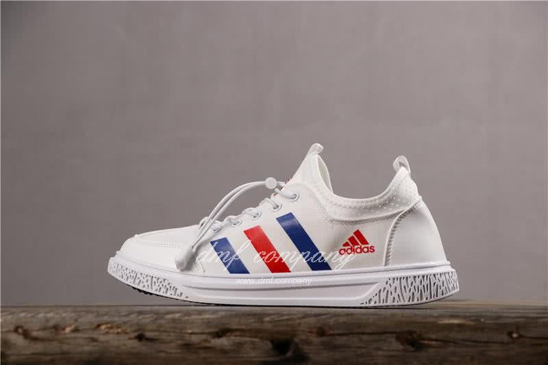 Adidas Extaball M Men White Blue Red Shoes 2