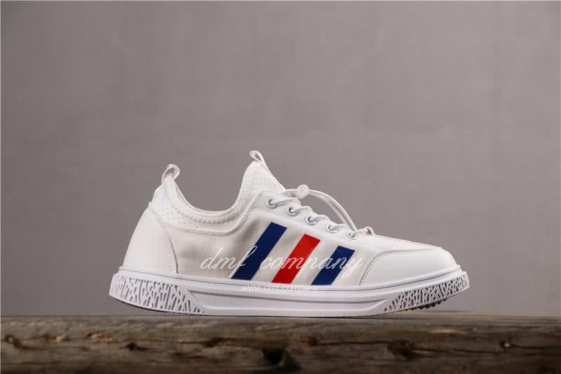 Adidas Extaball M Men White Blue Red Shoes 3