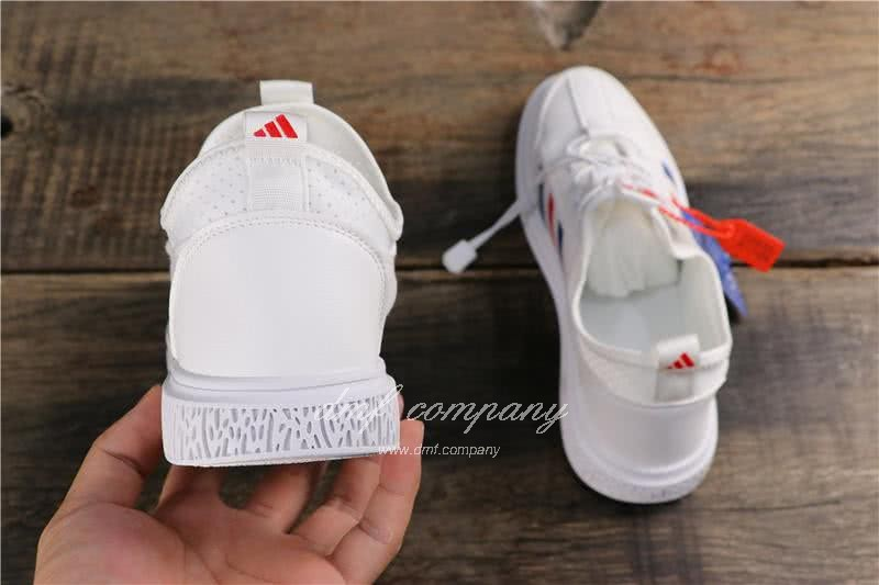 Adidas Extaball M Men White Blue Red Shoes 5