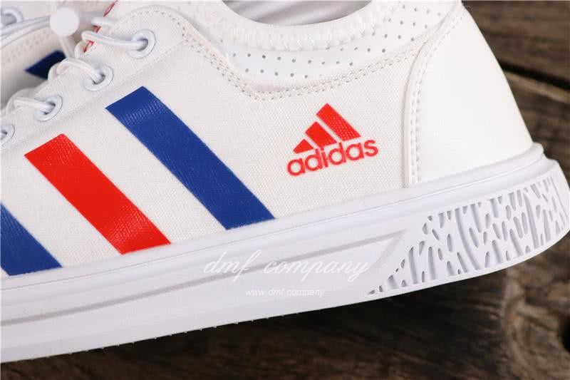 Adidas Extaball M Men White Blue Red Shoes 7