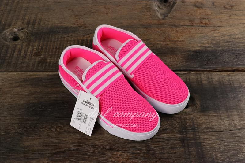 Adidas PARK SR SO SEA Shoes Red Women 7