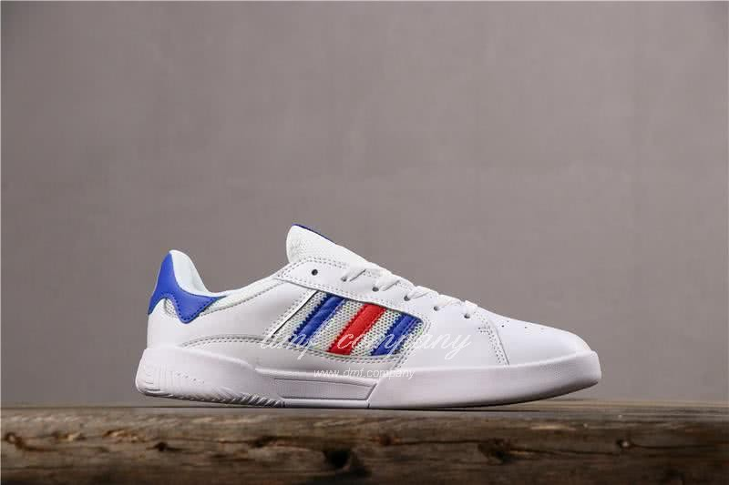 Adidas Vrx Low Men Women White Blue Red Shoes 3
