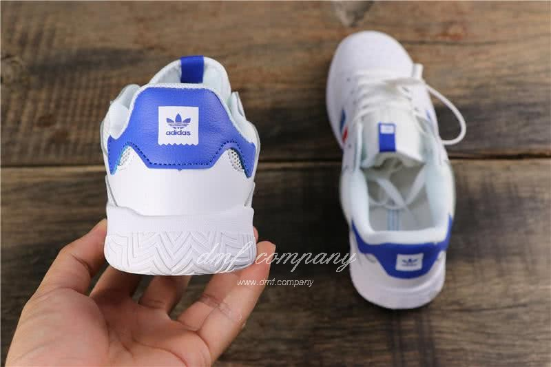 Adidas Vrx Low Men Women White Blue Red Shoes 5