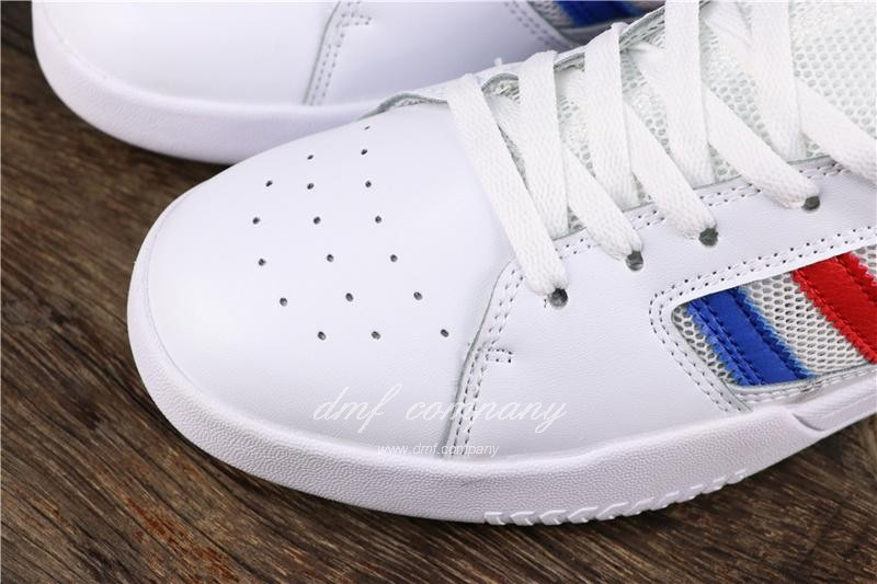 Adidas Vrx Low Men Women White Blue Red Shoes 6