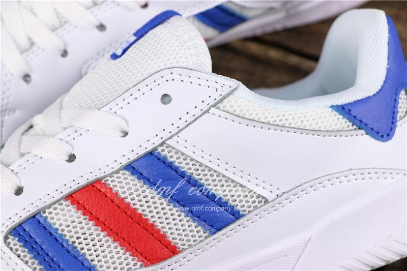 Adidas Vrx Low Men Women White Blue Red Shoes 7
