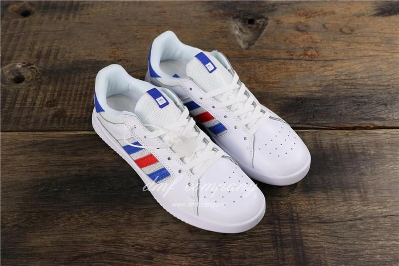 Adidas Vrx Low Men Women White Blue Red Shoes 1