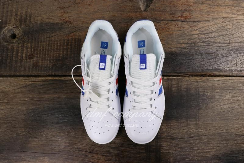 Adidas Vrx Low Men Women White Blue Red Shoes 8