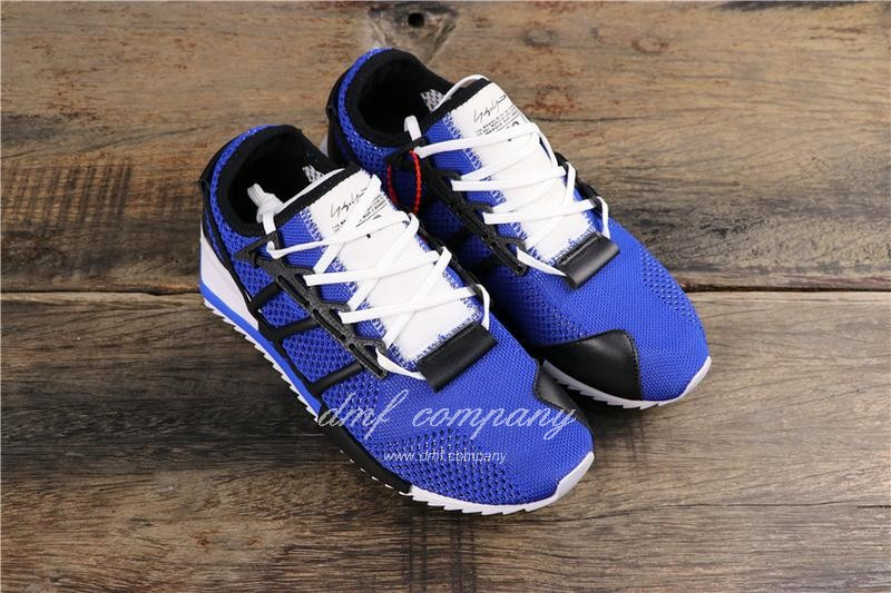 Adidas Y-3 Hairgane Men Blue White Shoes 1