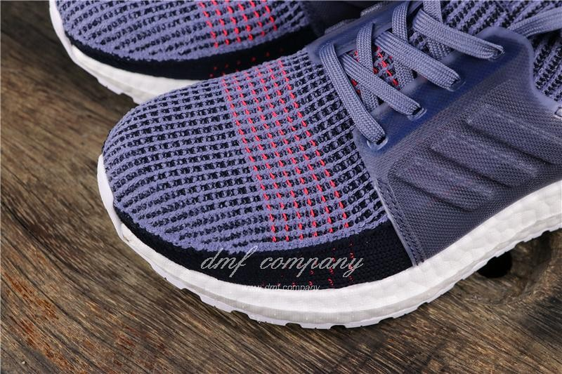 Adidas Ultra Boost 19 Women Purple Shoes 6