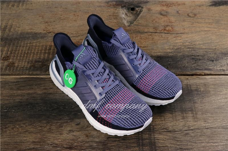 Adidas Ultra Boost 19 Women Purple Shoes 1