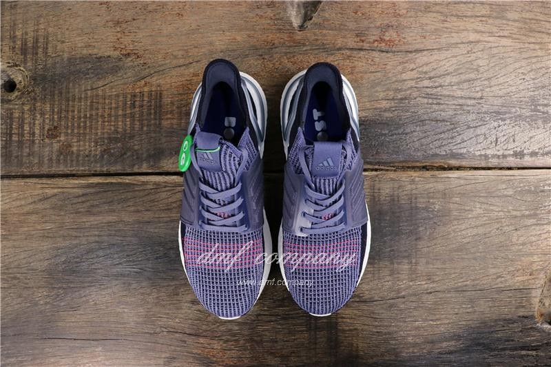 Adidas Ultra Boost 19 Women Purple Shoes 8