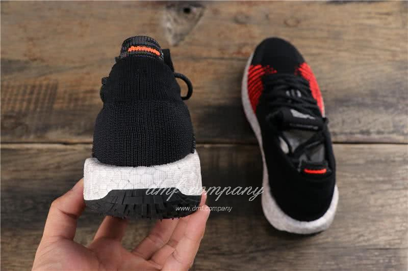 Adidas Pure Boost HD Men Black Red Shoes 5