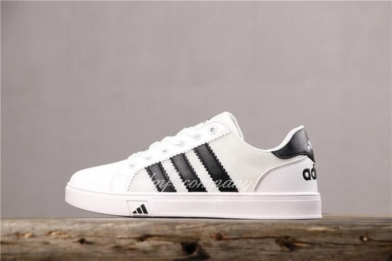 Adidas EXTABALL M  Men Women Black White Shoes 2