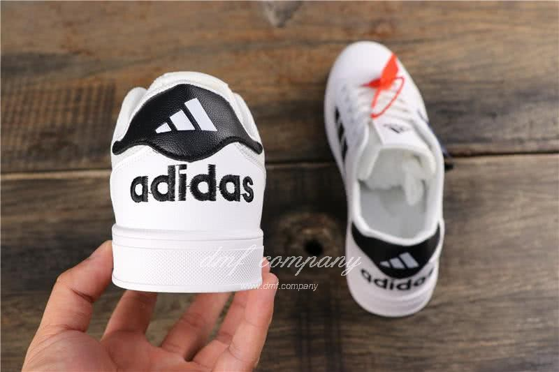 Adidas EXTABALL M  Men Women Black White Shoes 5