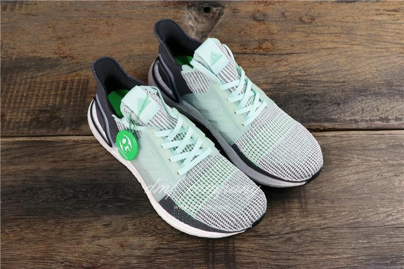 Adidas Ultra Boost 19 Men Women Green Shoes 2