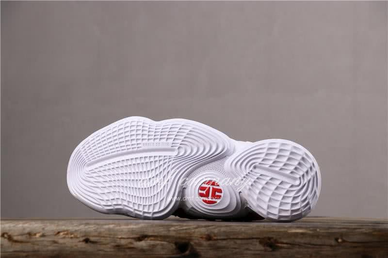 Adidas Harden Vol.4 Men White Red Shoes 4