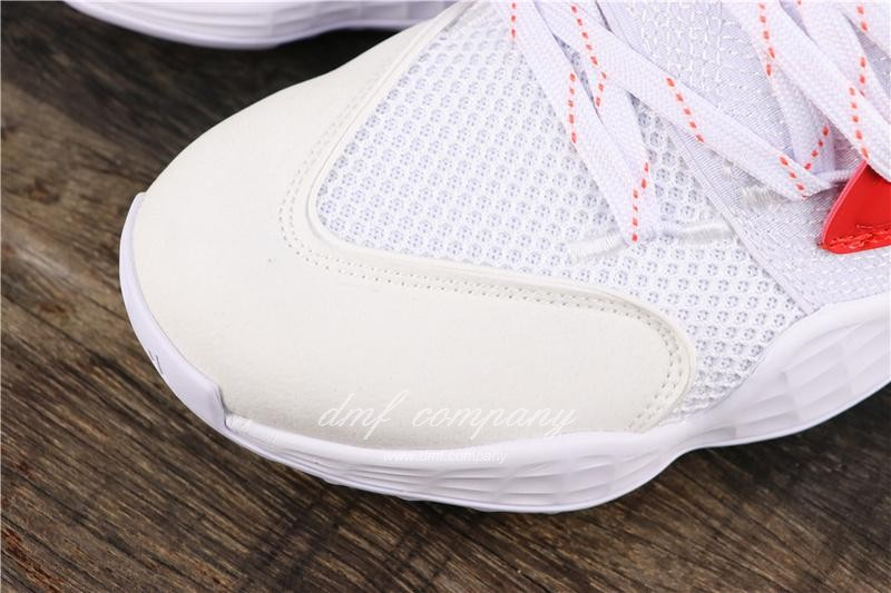 Adidas Harden Vol.4 Men White Red Shoes 6