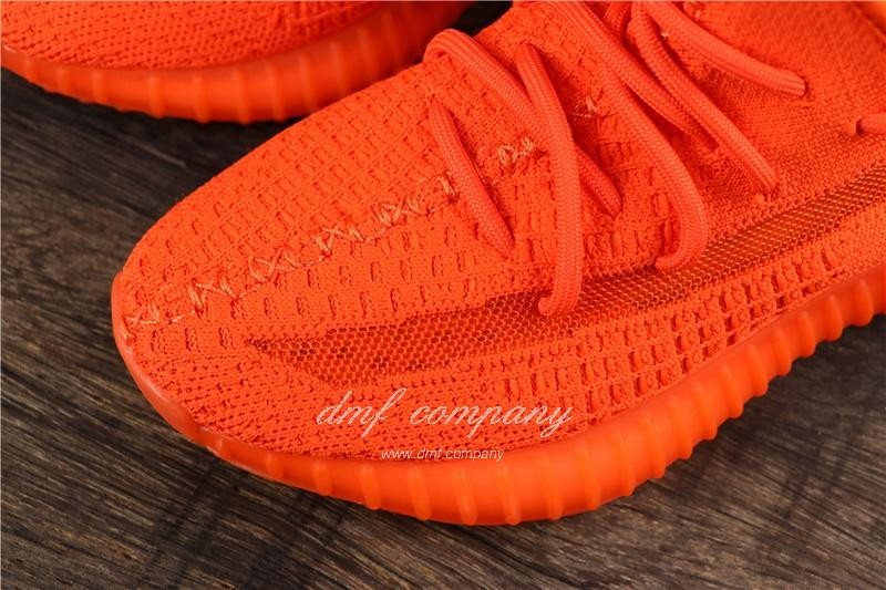 Adidas Yeezy Boost 350 V2 Men Women Red Shoes 5