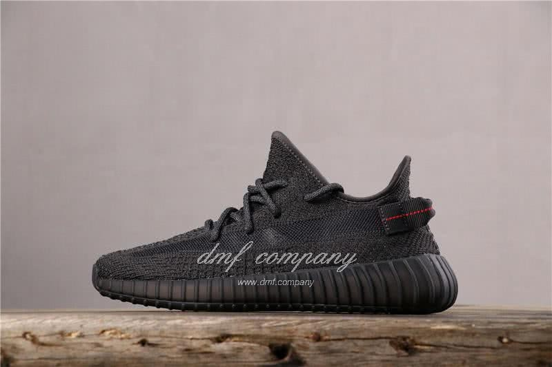 adidas Yeezy Boost 350 V2 Men Women Black Static Shoes  1