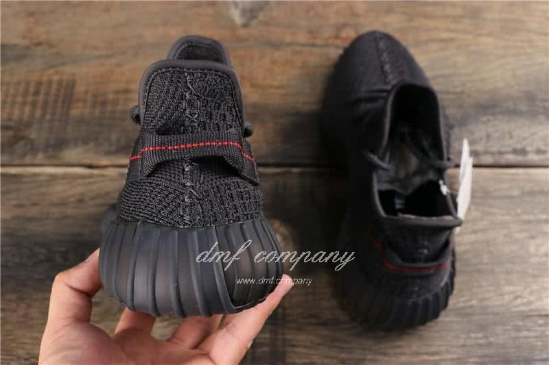 adidas Yeezy Boost 350 V2 Men Women Black Static Shoes  4