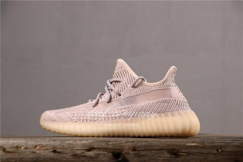 Adidas Yeezy Boost 350 V2 Men Women Pink Static Shoes 1