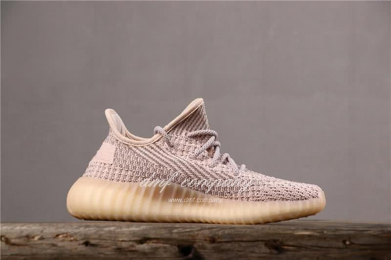 Adidas Yeezy Boost 350 V2 Men Women Pink Static Shoes 4