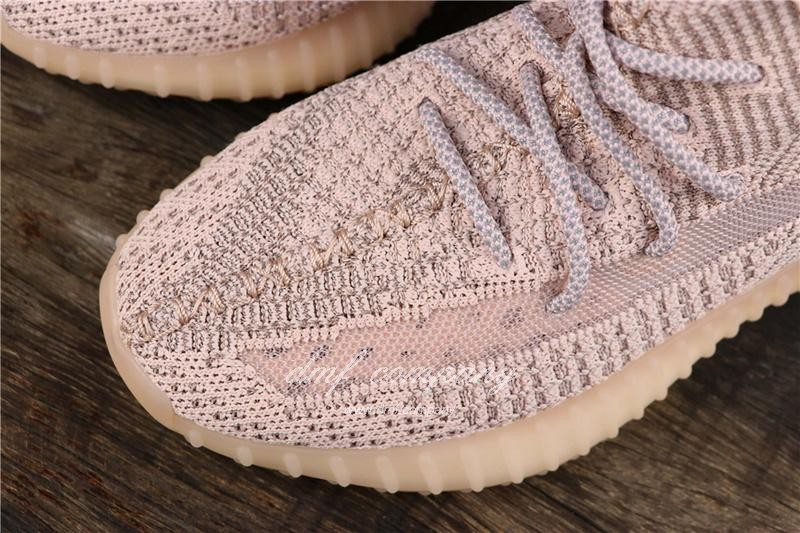 Adidas Yeezy Boost 350 V2 Men Women Pink Static Shoes 9