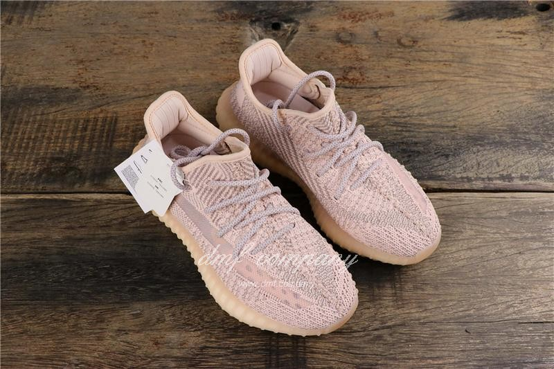 Adidas Yeezy Boost 350 V2 Men Women Pink Static Shoes 13