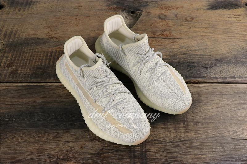 Adidas Yeezy Boost 350 V2 White Static Men Women Shoes 7