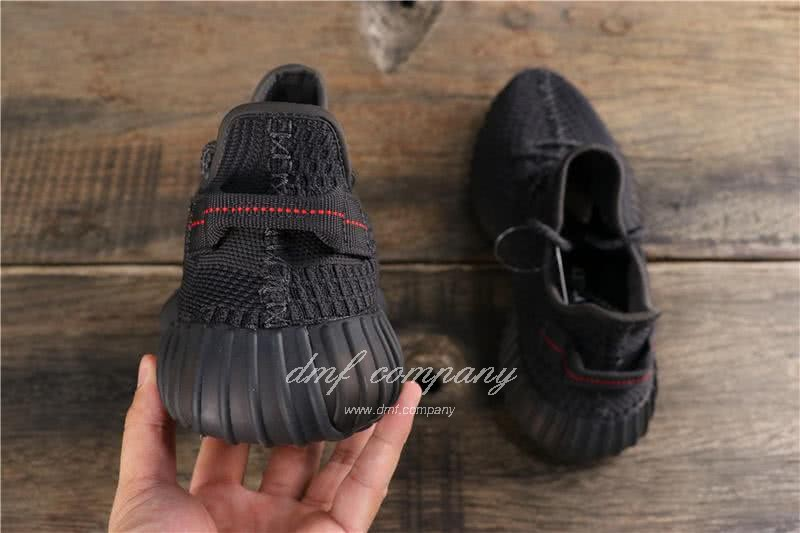 Adidas Yeezy Boost 350 V2 Black Men Women Shoes 4
