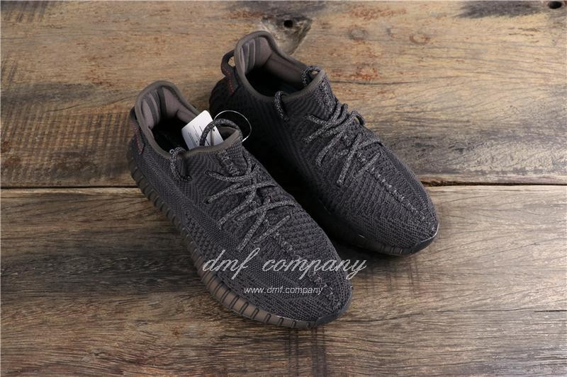 Adidas Yeezy Boost 350 V2 Black Men Women Shoes 7