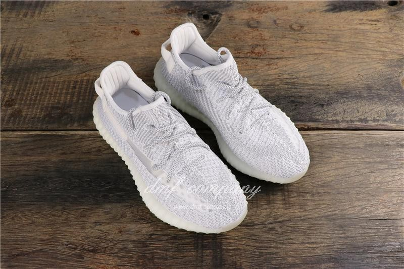 Adidas Yeezy Boost 350 V2 White Static Reflective Men Women Shoes 7