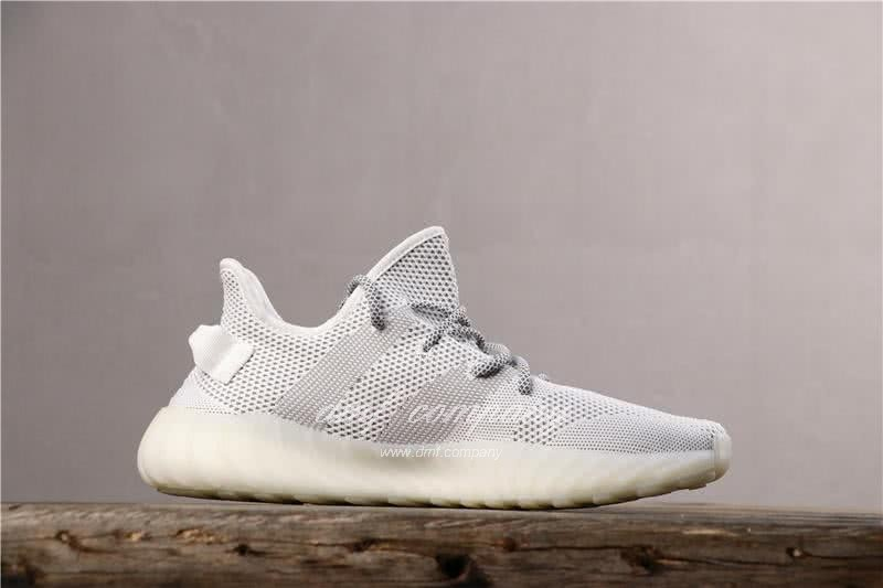 """Adidas Yeezy Boost 350 V2 """"BLACK REFLECTIVE"""" GET Shoes White Men 3"""