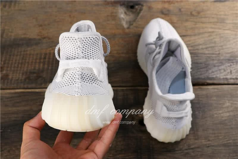 """Adidas Yeezy Boost 350 V2 """"BLACK REFLECTIVE"""" GET Shoes White Men 7"""