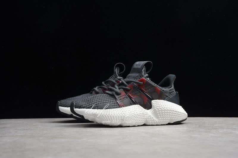 Adidas Prophere Kids Shoes Gery And Black 6