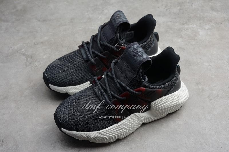 Adidas Prophere Kids Shoes Gery And Black 8