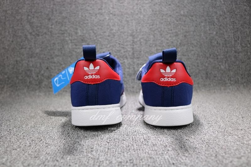 ADIDAS SUPERSTAR 360 Kids Shoes Blue 7
