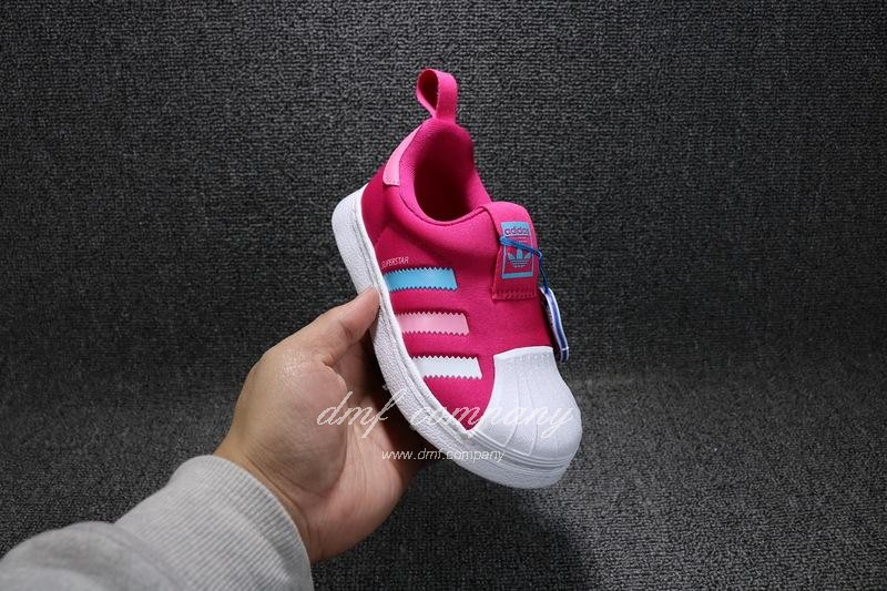 ADIDAS SUPERSTAR 360 Kids Shoes Red 4