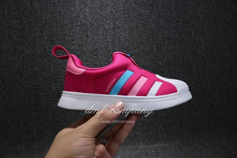 ADIDAS SUPERSTAR 360 Kids Shoes Red 5