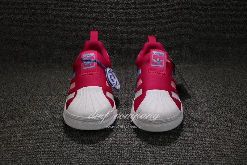 ADIDAS SUPERSTAR 360 Kids Shoes Red 6