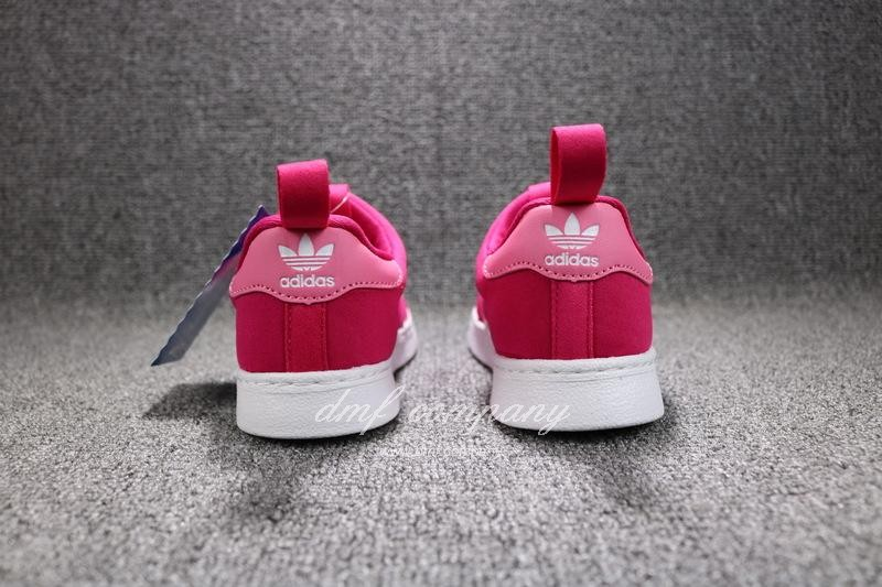 ADIDAS SUPERSTAR 360 Kids Shoes Red 7