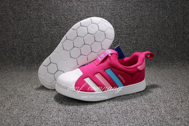 ADIDAS SUPERSTAR 360 Kids Shoes Red 1